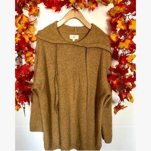LOU&GREY brown oversized sweatshirt large